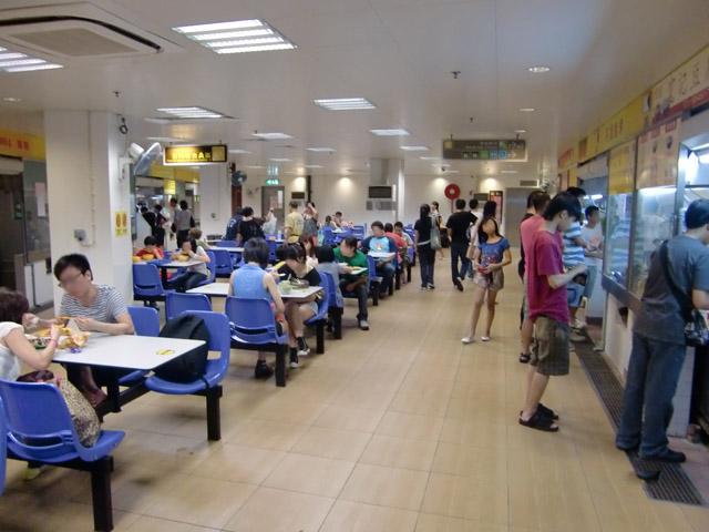Cooked Food Area at S. Lourenço Municipal Market Complex