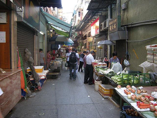 义字街区小贩区
