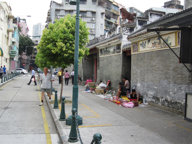 大缆巷小贩区