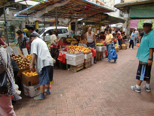 Hawker Area at the Municipal Market Complex of S. Lourenço