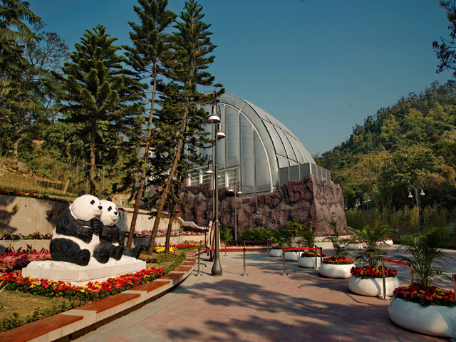 Macao Giant Panda Pavilion  (Temporarily closed)