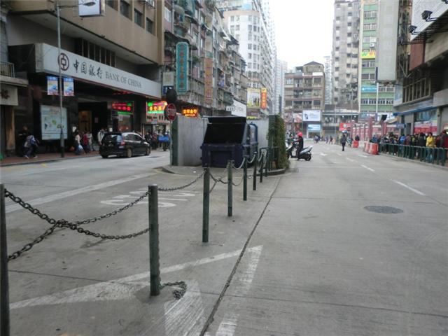 M8 Compacting trash bin at Avenida de Horta e Costa