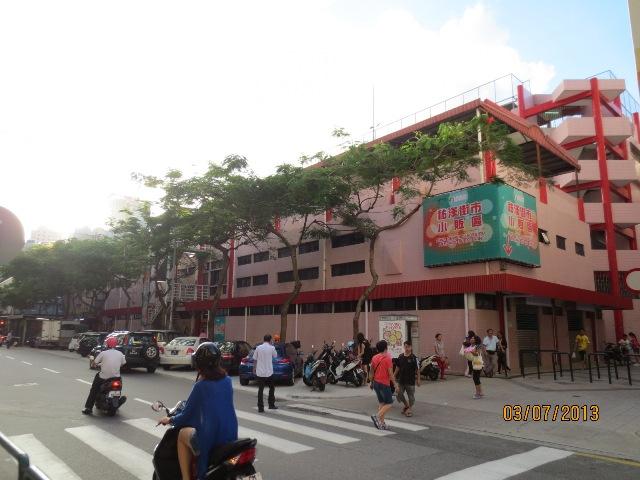 佑汉街市小贩区