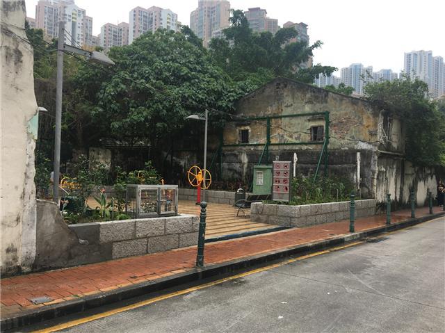 Leisure Area in Rua Direita Carlos Eugénio