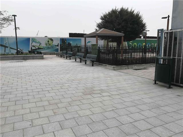 Dog Park in Avenida da Ponte da Amizade (next to sewage treatment plant)