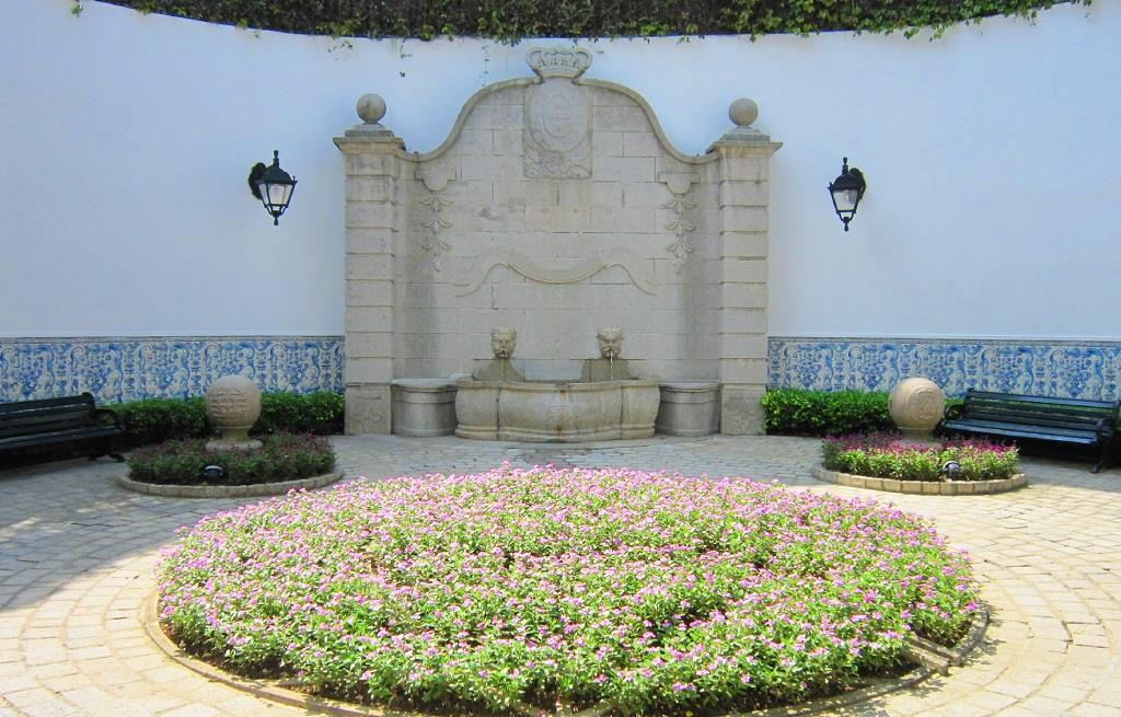 Courtyard Garden of IAM Building
