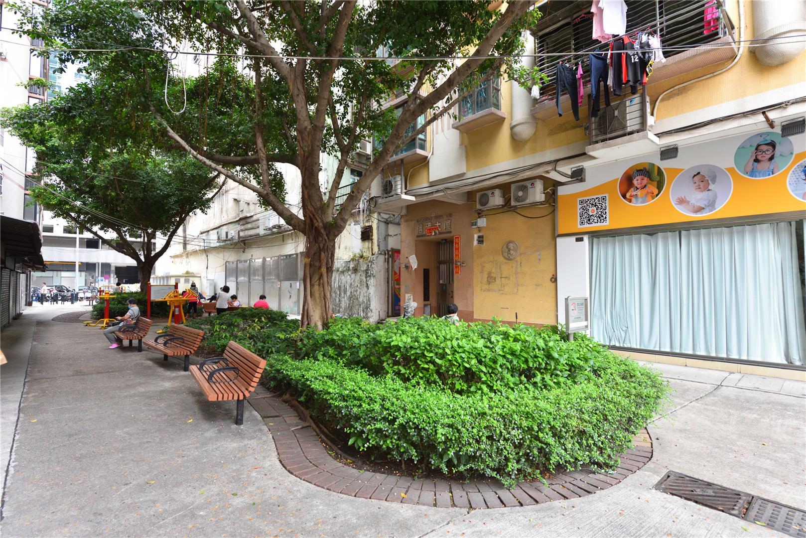 Leisure Area in Rua dos Estaleiros