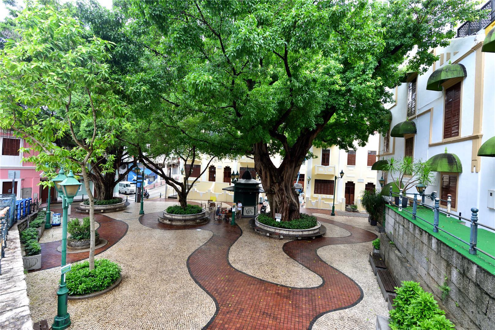 Leisure Area in Lilau Square