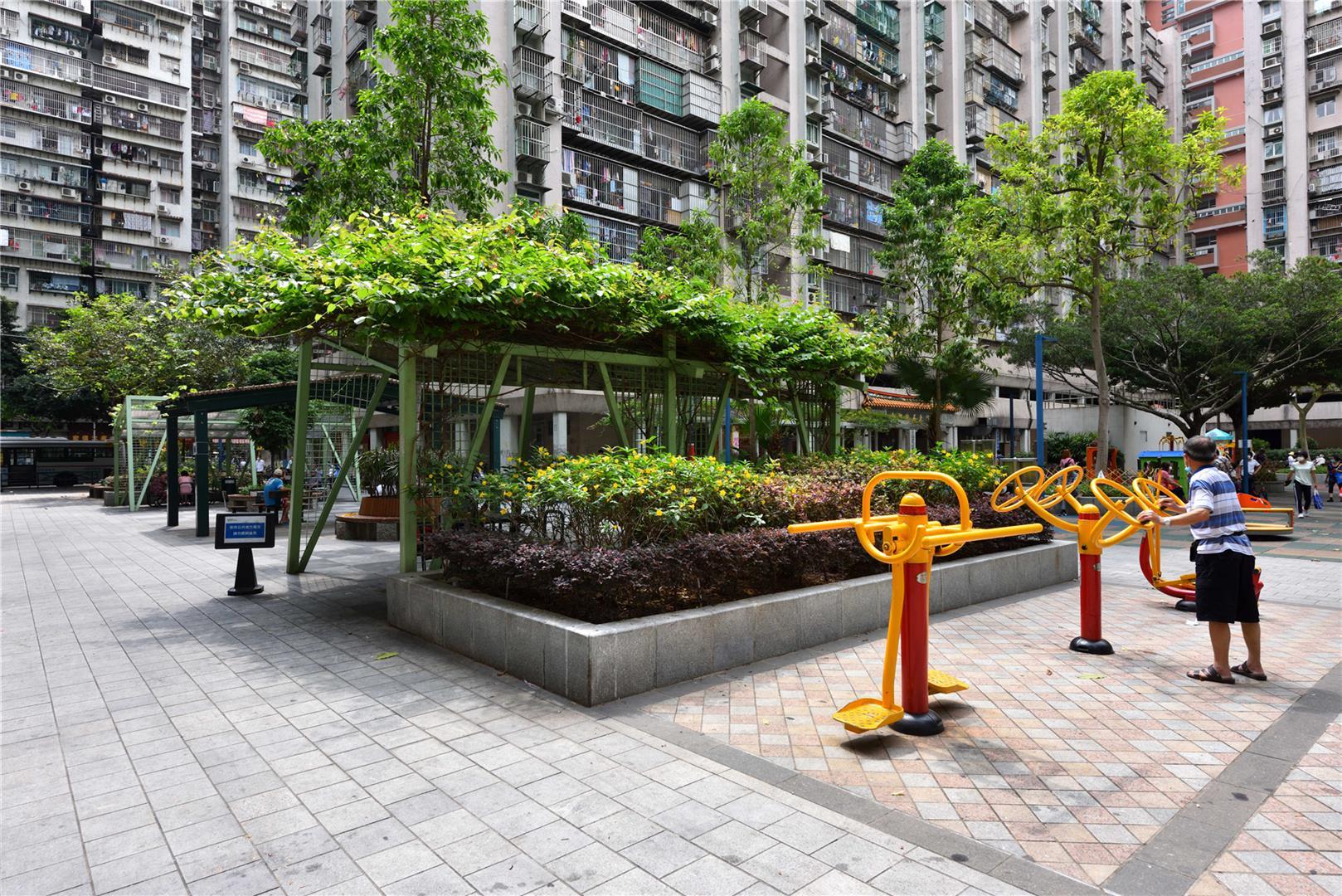 Leisure Area of Edif. Wang Hoi & Wang Kin