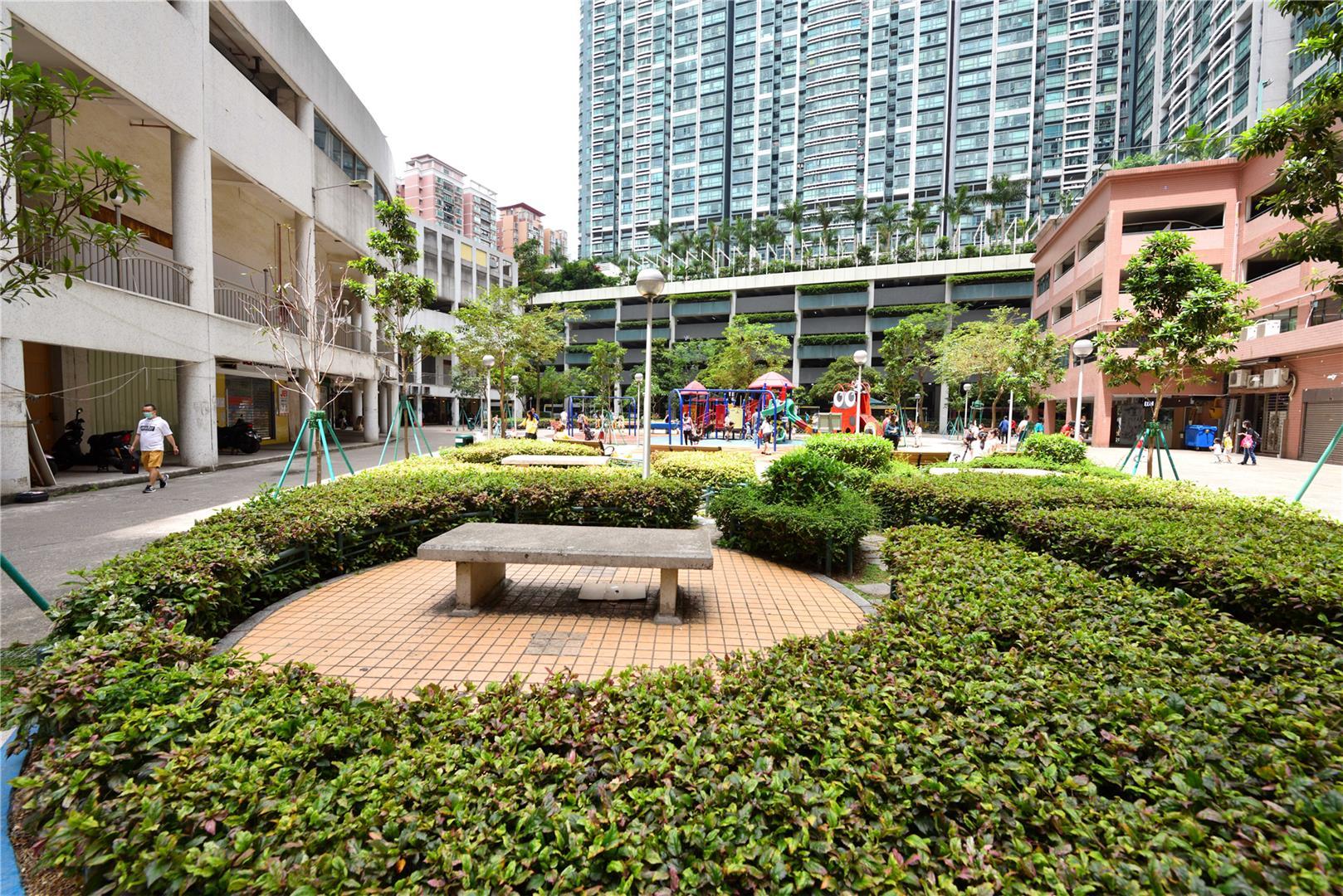 Leisure Area in Praça das Orquídeas