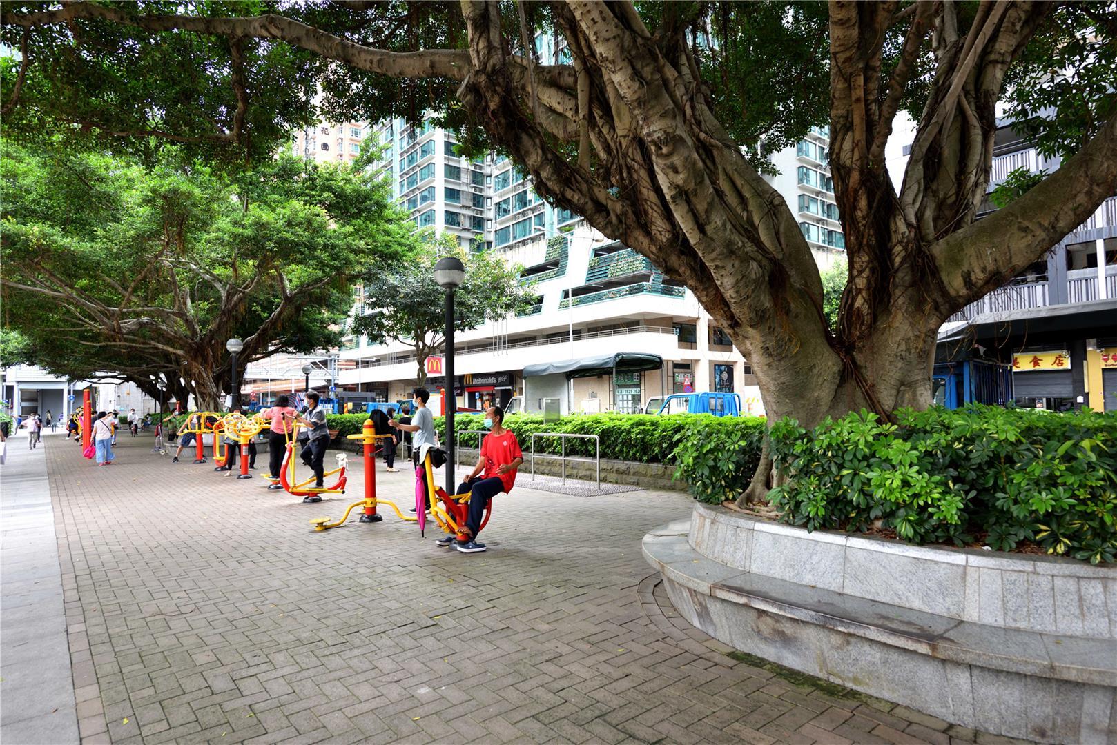 Zona de Lazer da Avenida Marginal do Lam Mau