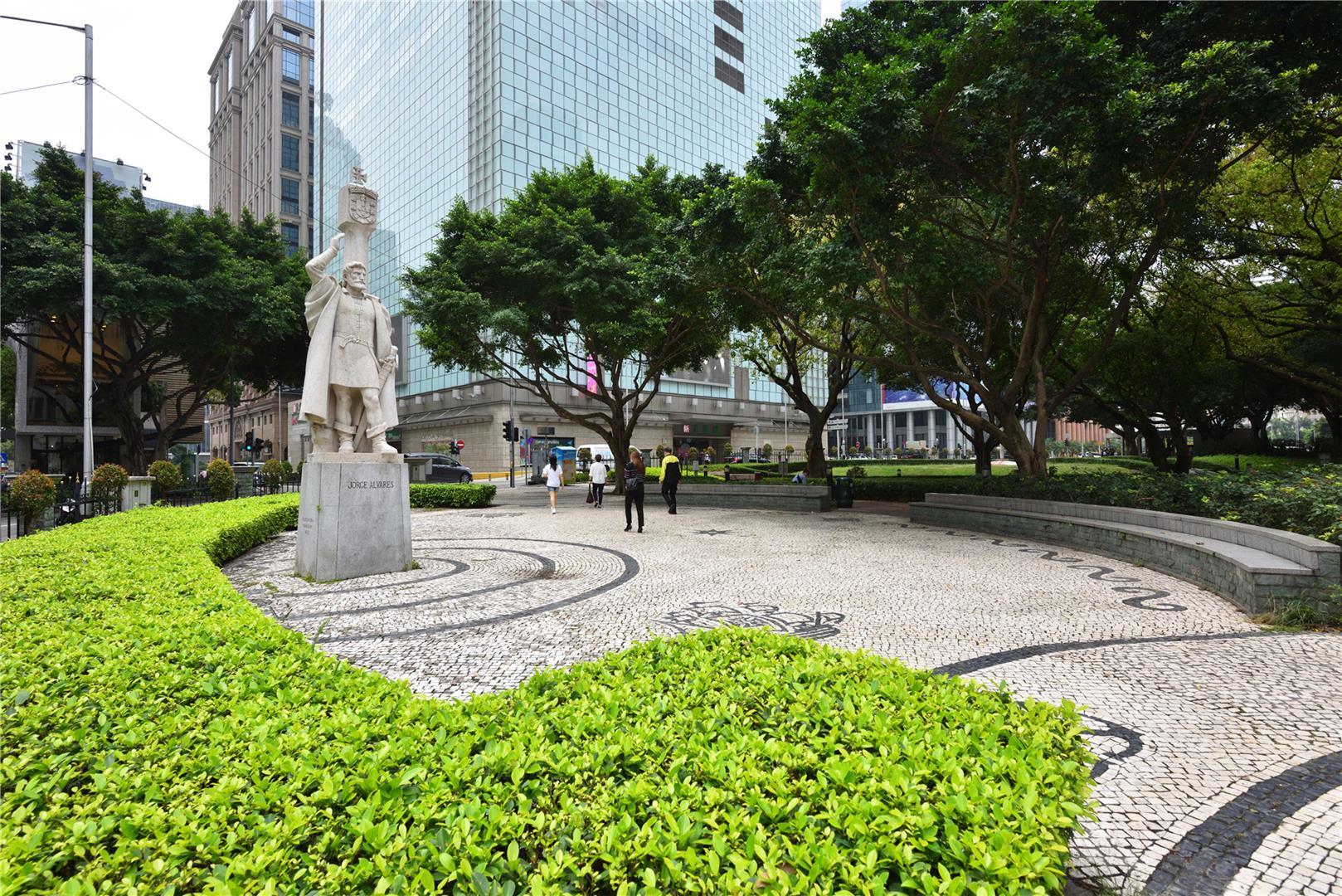 Leisure Area in Praça de Jorge Álvares