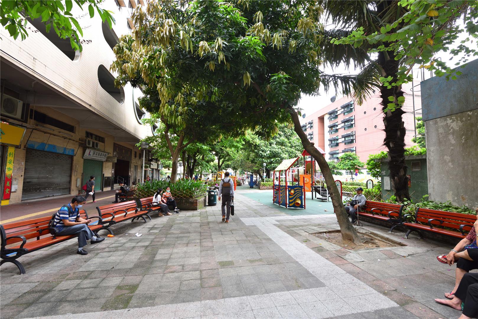 Leisure Area in Rua Central de T'oi Sán