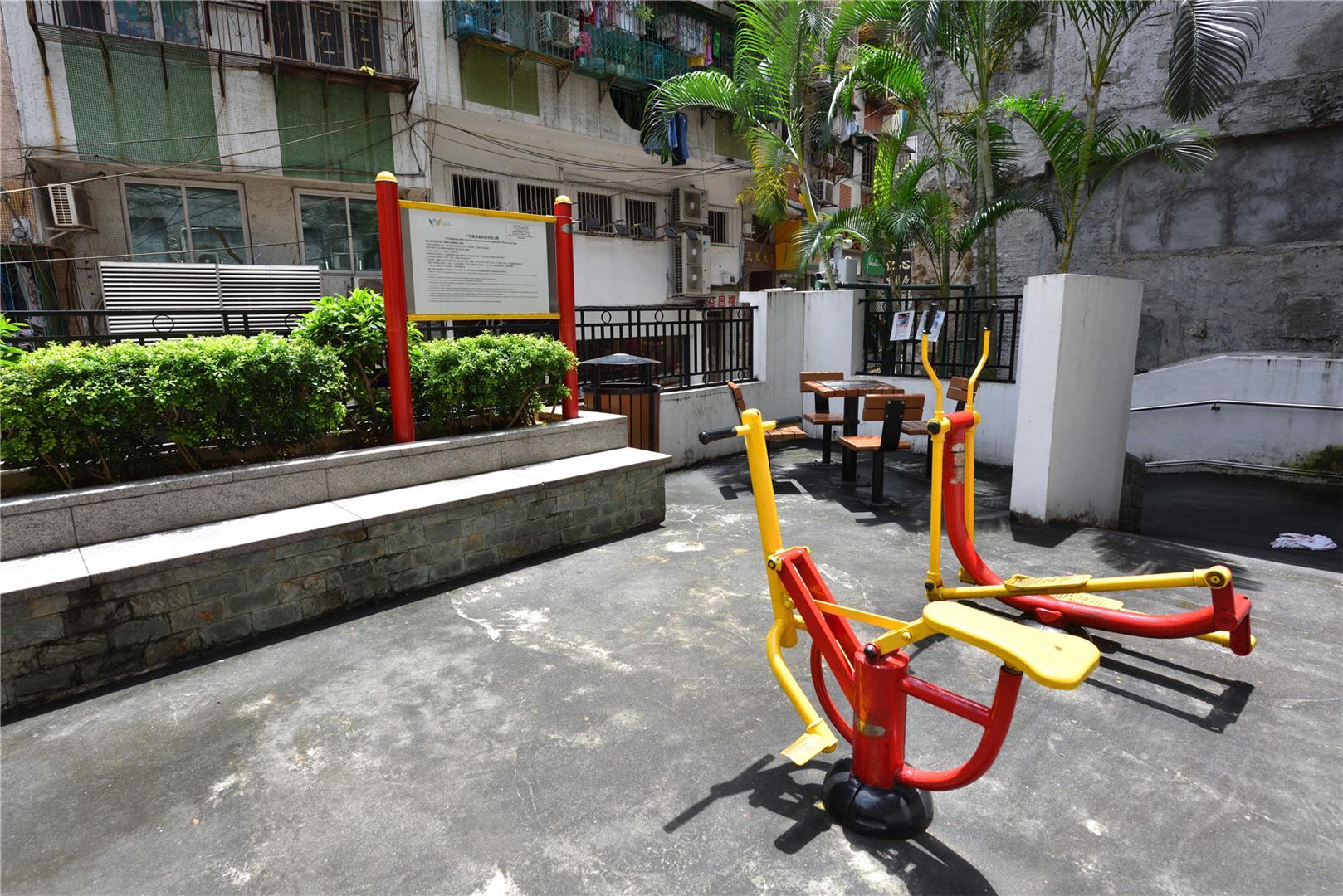 Leisure Area in Rua do Gamboa
