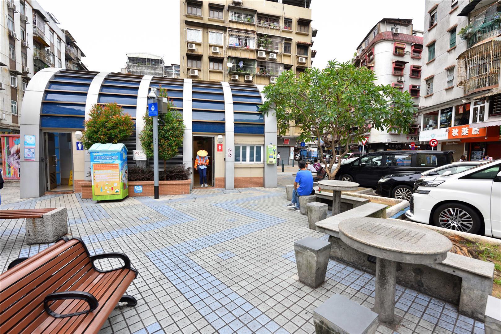 Leisure Area in Rua da Barca