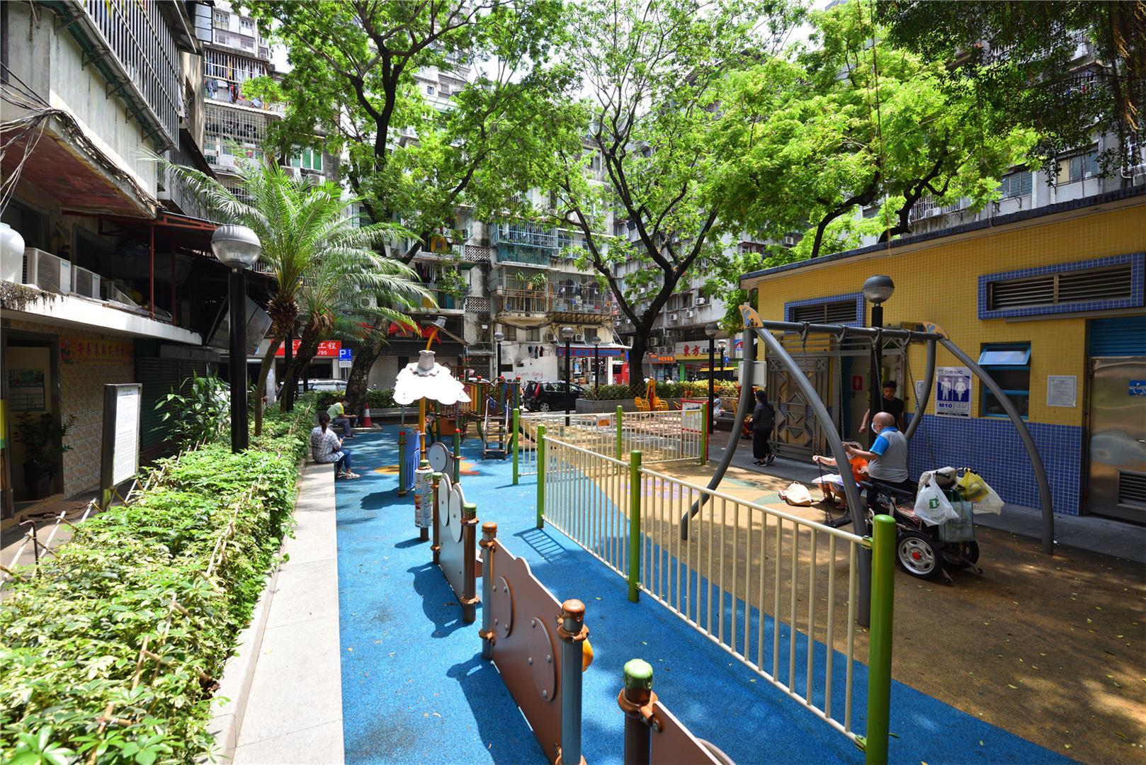 Leisure Area in Rua Quatro do Bairro da Areia Preta