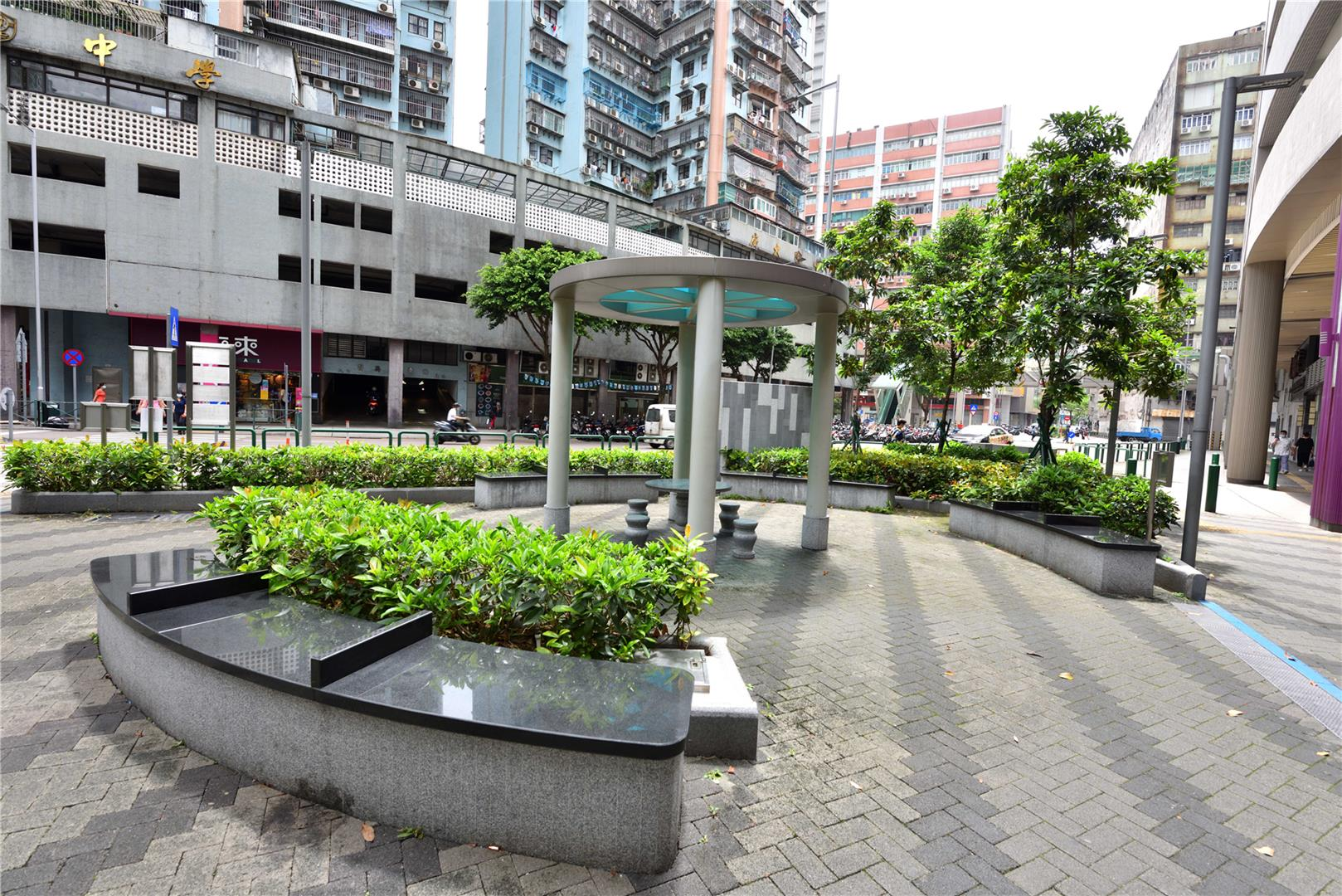 Leisure Area in Rua Nova do Patane