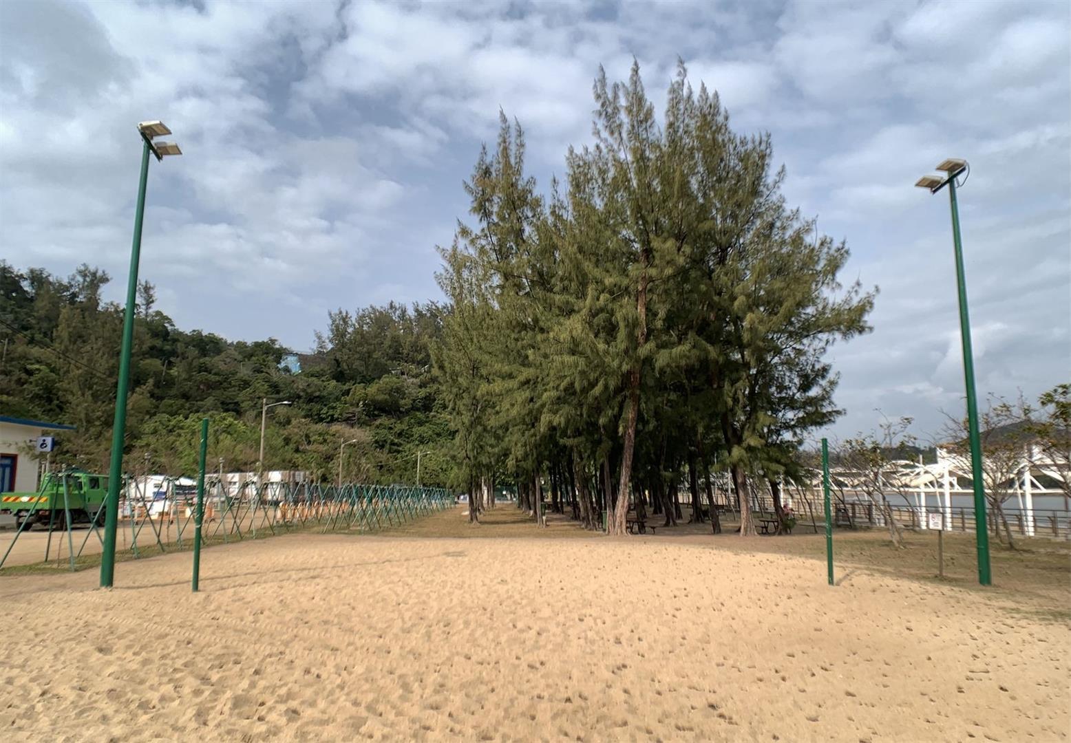 Free Sports Ground on Hac Sá Beach