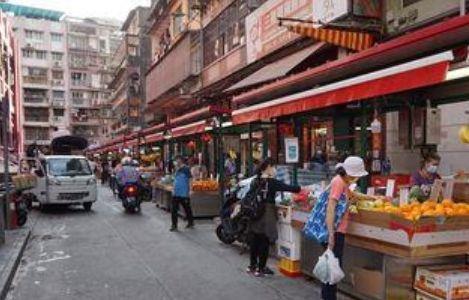 Hawker Area the Municipal Market of Almirante Lacerda