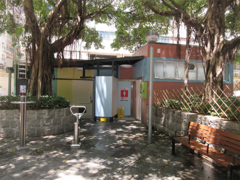 M45 Public toilet at the Leisure Area of Jardim Nam Ou