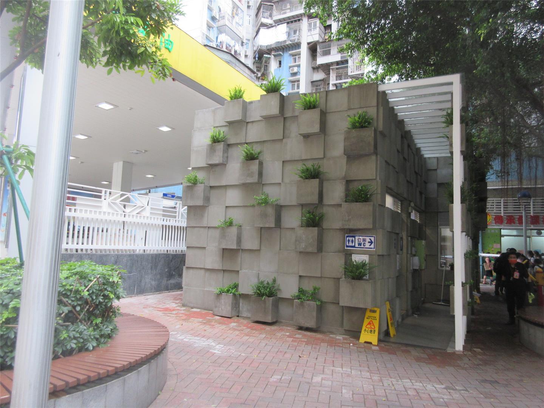 M3 Public Toilet at Rua Marginal do Canal das Hortas (next to the gas station)