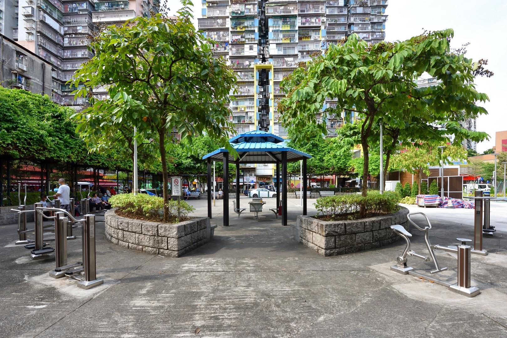 Leisure Area in Rua Oito do Bairro Iao Hon