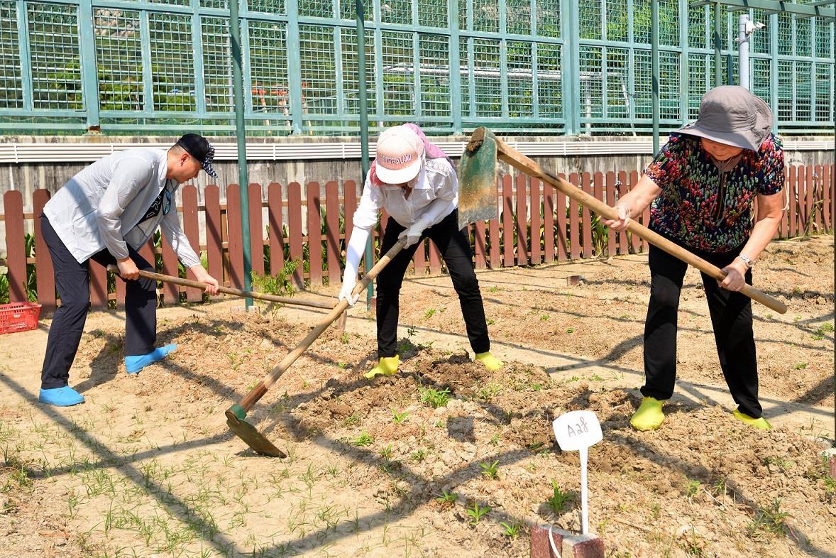 市政署农耕体验活动接受报名