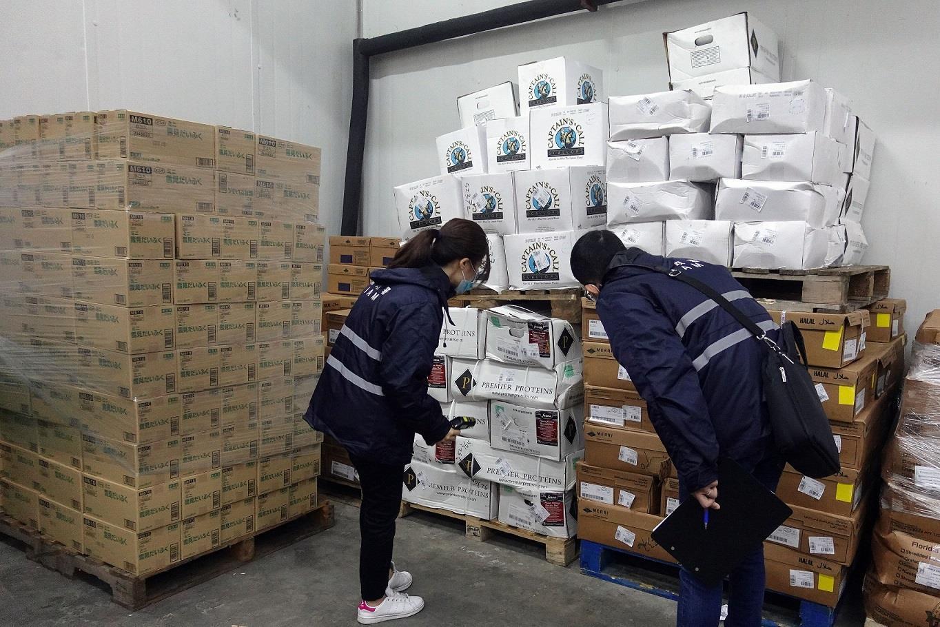 市政署加强冷链食品外包装消毒 冀业界严格落实同守新冠防疫线