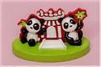 Giant Panda resin ornament (A-Ma Temple)
