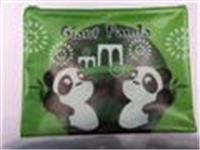 A4 Giant Panda zipper bag (green)