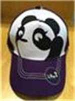 大熊貓成人Cap帽(紫色)