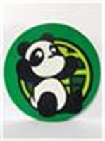 Giant Panda coaster (d) green