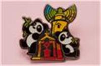 World heritage site Giant Panda pin (Guia Lighthouse)